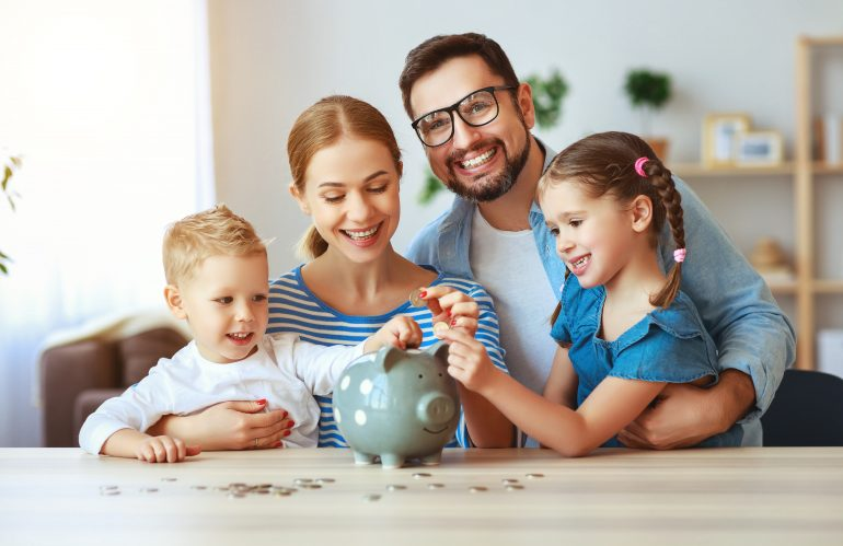 teaching kids about finances